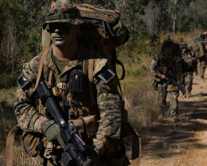 Members of the U.S Marine Corps