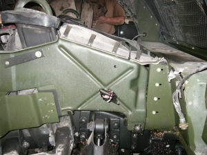 Engine destroyed only engine block intacted
