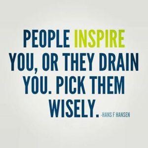 t inspire or drain
