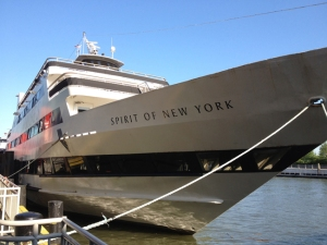 Spirit of NY boat used to serve catered meals
