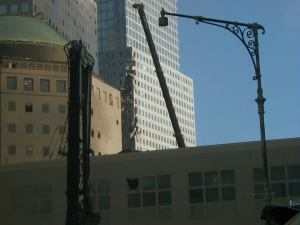 World Financial Center Damaged building